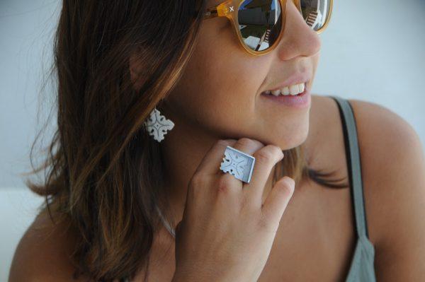 anillo de plata
