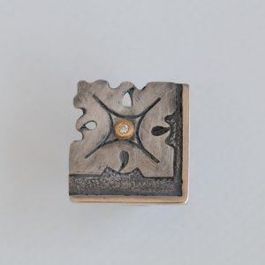 anillo plata brillante fragments