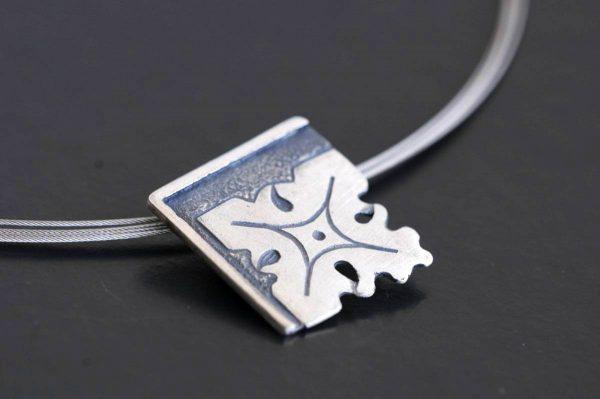 colgante plata fragments