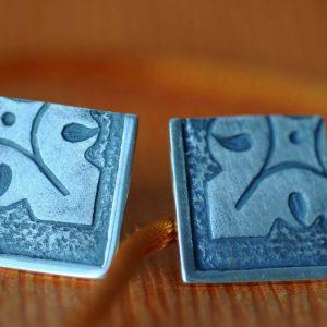pendientes plata fragments